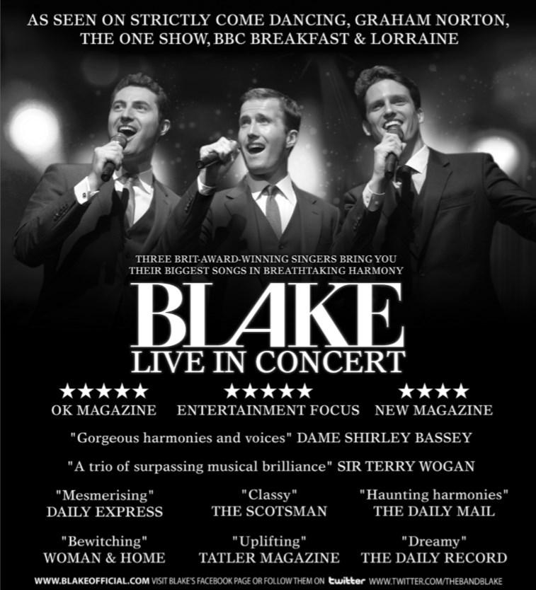 BLAKE 2016 tour