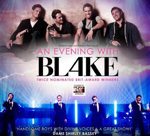 BLAKE 2010 Tour Poster